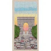 Kit point de croix - Le Bonheur des Dames - Arc de Triomphe