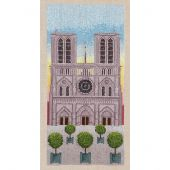 Kit point de croix - Le Bonheur des Dames - Notre Dame de Paris
