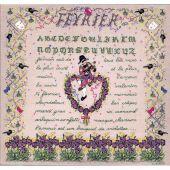 Kit point de croix - Le Bonheur des Dames - Février