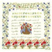 Kit point de croix - Le Bonheur des Dames - Juillet