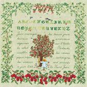 Kit point de croix - Le Bonheur des Dames - Juin
