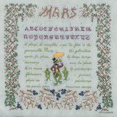 Kit point de croix - Le Bonheur des Dames - Mars