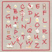 Kit point de croix - Le Bonheur des Dames - ABC Cocottes