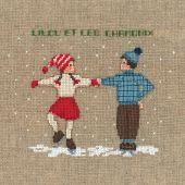 Kit point de croix - Le Bonheur des Dames - Deux danseurs