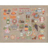 Kit point de croix - Le Bonheur des Dames - Atelier de cuisine