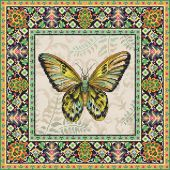 Kit point de croix - Letistitch - Papillons Vintage 2
