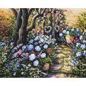 Kit point de croix - Letistitch - Jardin merveilleux