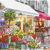 Kit point de croix - Letistitch - Magasin de fleurs