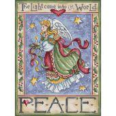 Kit point de croix - Letistitch - Ange de paix