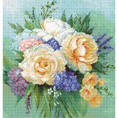 Kit point de croix - Luca-S - Bouquet floral