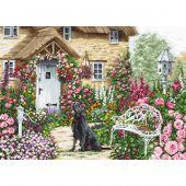 Kit point de croix - Luca-S - Jardin du cottage