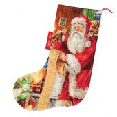 Kit de chaussette de Noël à broder - Luca-S - Liste de Noël