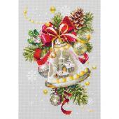 Kit point de croix - Magic Needle - Cloche de Noël