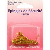 Epingles - Couture loisirs - Epingles de sûreté - Tailles assorties