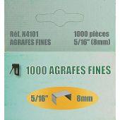 Accessoire créatif - LMC - 1000 agrafes fines 8 mm