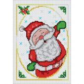 Kit point de croix - Luc Créations - Père Noël