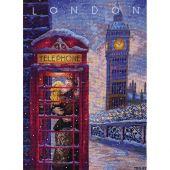 Kit point de croix - Merejka - Visitez Londres