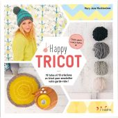 Livre - L'inédite - Happy tricot