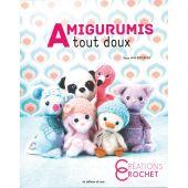 Livre - Les éditions de saxe - Amigurumis tout doux