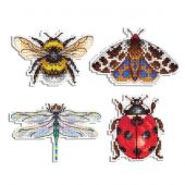 Kit de magnet à broder - MP Studia - Magnets insectes