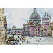 Kit point de croix - Nova Sloboda - Perle d'Italie