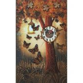 Kit de pendule à broder - Nova Sloboda - Horloge magique