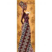Kit de broderie avec perles - Nova Sloboda - Femme africaine avec lys