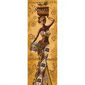Kit de broderie avec perles - Nova Sloboda - Femme africaine avec fruits