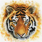 Kit point de croix - Ladybird - La force du tigre