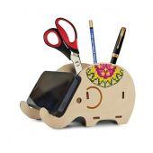 Kit de support à broder - Oven - Support bureau éléphant