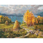 Kit point de croix - Oven - Orage d'automne