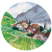 Kit point de croix - Oven - Les Alpes
