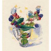 Kit point de croix - Oven - Bouquet d'Août