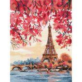 Kit point de croix - Oven - Romance de Paris