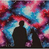 Kit point de croix - Panna - Meilleurs amis de l'univers