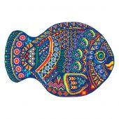 Kit de coussin à broder - Panna - Mon poisson