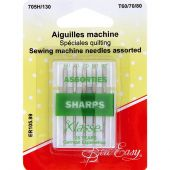 Aiguilles machine à coudre - Sew Easy - Aiguilles pour quilting - T60/70/80