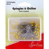 Epingles - Sew Easy - 100 épingles extra longues - 50 mm