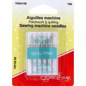 Aiguilles machine à coudre - Sew Easy - Aiguilles pour quilting 80/12