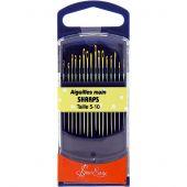 Aiguilles à coudre - Sew Easy - Aiguilles quilting main - Tailles 5-10
