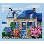 Kit point de croix - Luc Créations - L'amour de Bretagne
