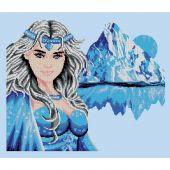 Kit point de croix - Luc Créations - Princesse des glaces
