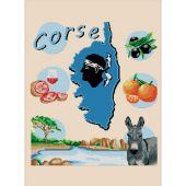 Kit point de croix - Luc Créations - La Corse