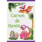 Kit de protège carnet à broder - Princesse - Dinosaures
