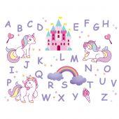 Kit au point de broderie  - Princesse - ABC Licornes