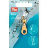 Tirette pour fermeture - Prym - Fashion zipper - oeillet doré