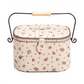 Coffret à ouvrages - Prym - Country rose - rectangulaire