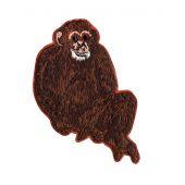 Ecusson thermocollant - Prym - Chimpanzé marron