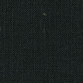 Toile à broder -  Toile lin 12 fils noir en coupon ou au mètre