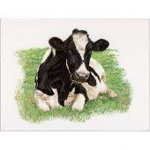Kit point de croix - Théa Gouverneur - Vache de face